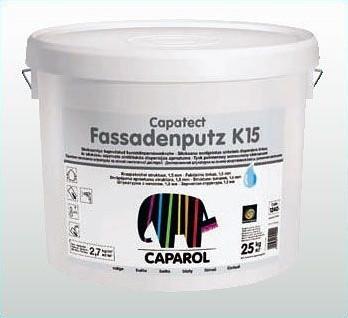 Декоративная штукатурка Caparol Capatect-Fassadenputz K 15 Weiß (белый) 25кг