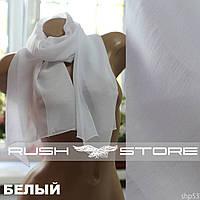 Белый шарф на весну