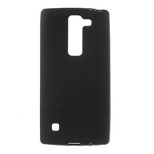 Чехол накладка для LG Spirit Y70 H422 силиконовый матовый, Черный