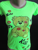 Милая футболка с мишкой  , фото 1