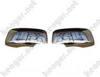 Хромированные накладки на зеркала Mitsubishi Lancer
