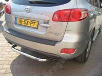 Защита заднего бампера для Hyundai Santa Fe