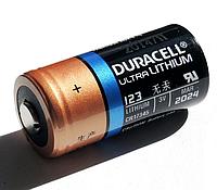 Батарейка литиевая Duracell CR123A 1650 mAh