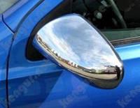Хромированные накладки на зеркала Nissan Qashqai