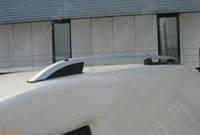 Рейлинги на крышу Doblo Fiat, металлические концевики