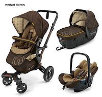 Детская универсальная коляска Concord Neo Travel Set 3 в 1, 2016  Walnut brown