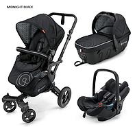 Детская универсальная коляска Concord Neo Travel Set 3 в 1, 2016  Midnight black