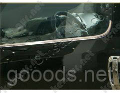 Молдинги стекол Fiat Doblo