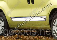 Хром молдинги на двери Fiat Fiorino