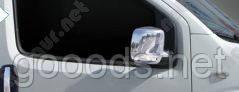 Накладки на боковые зеркала Fiat Fiorino