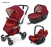 Детская универсальная коляска Concord Neo Travel Set 3 в 1, 2016  Tomato red