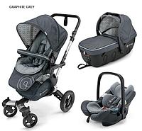 Детская универсальная коляска Concord Neo Travel Set 3 в 1, 2016  Graphite grey