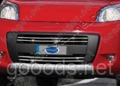 Хромированная накладки на передний бампер Fiat Fiorino