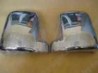 Хромированные накладки на зеркала Ford Connect
