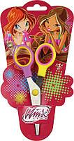 """Ножницы детские с пластиковыми ручками """"Винкс"""" 480185 1 Вересня, 13 см"""