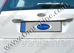 Хром накладка на крышку багажника Ford Fiesta
