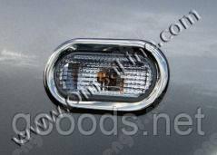 Хром окантовка на повторители поворота Ford Focus