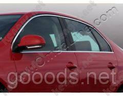 Верхняя окантовка стекол Volkswagen Jetta