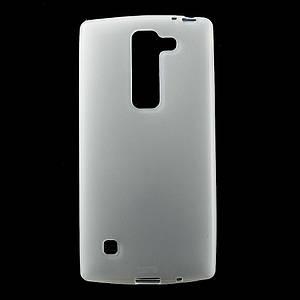 Чехол накладка для LG Spirit Y70 H422 силиконовый матовый, Белый