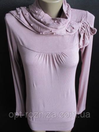 Красивое платье женское с шарфом