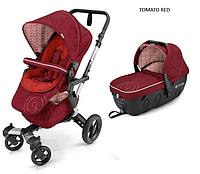 Детская универсальная коляска 2 в 1 Concord Neo (люлька Sleeper 2.0) 2016 Tomato red