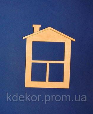 Будиночок №2 заготівля для декупажу та декору