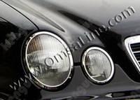 Накладки на фары Mercedes-Benz E-Class