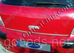 Накладка на кромку багажника Peugeot 307