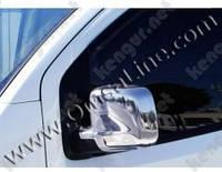 Хромированные накладки на зеркала Peugeot Bipper