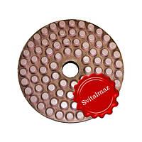 Алмазные полировочные резиновые пупырышки, бутсы Дельфин Ф160 мм. №200 для полировки габбро и гранита.