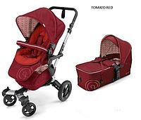 Детская универсальная коляска 2 в 1 Concord Neo (люлька Scout) 2016 Tomato red