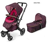 Детская универсальная коляска 2 в 1 Concord Neo (люлька Scout) 2016 Rose pink