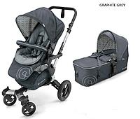 Детская универсальная коляска 2 в 1 Concord Neo (люлька Scout) 2016 Graphite grey