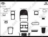 Накладки на панель Opel Astra