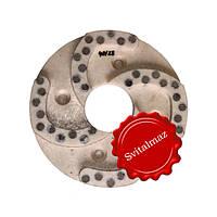Алмазный полировочный пластмассовый круг Дельфин Ф160 мм. №40/28 для полировки габбро.
