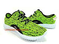 Adidas Yeezy Boost 350 зеленые Кроссовки Адидас изи буст, фото 1
