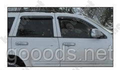 Дефлекторы стекол Jeep Cherokee