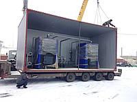 Модульная твердотопливная котельная 100 кВт