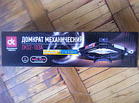 Домкрат механический 1т. 100/350мм. с резинкой , фото 1