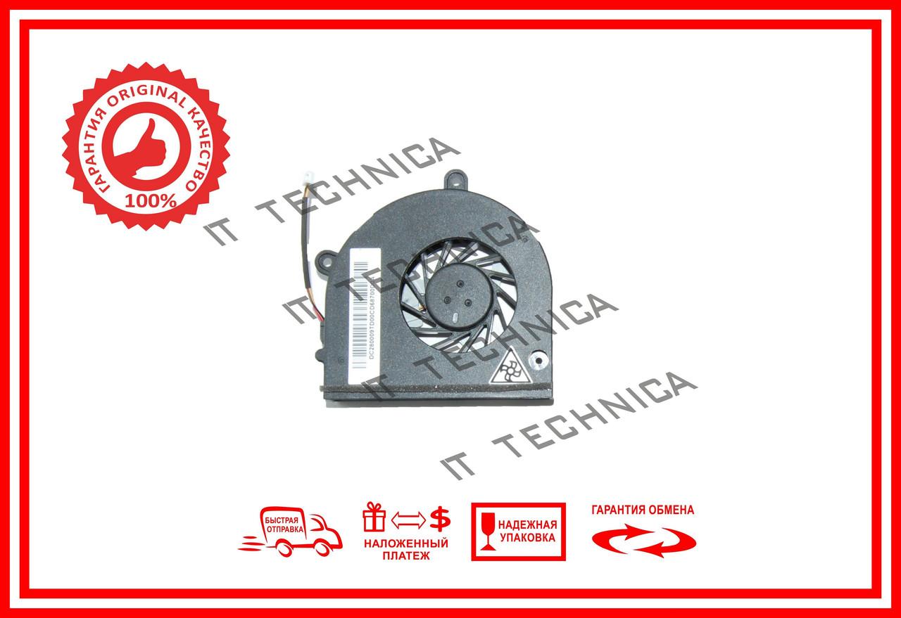 Вентилятор ACER ASPIRE 5251, 5252, 5551, 5552 (AB7905MX-EB3, MF60120V1-B100-G99, DC2800091D0) ОРИГИНАЛ
