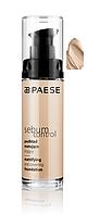Тональный крем для жирной кожи Sebum Control Фарф. (400) Paese, фото 1