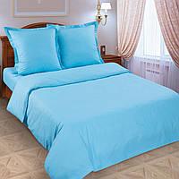 Ткань для постельного белья однотонная, поплин Лагуна