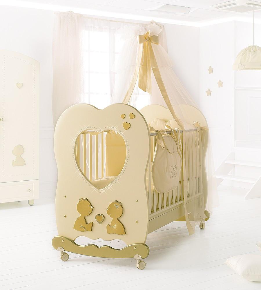 Кроватка Baby Expert LETTINO CUORE DI MAMMA
