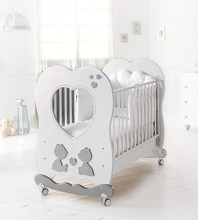Кроватка Baby Expert LETTINO CUORE DI MAMMA, фото 2