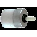 Фильтр топливный, боченок, пластик (съемное грузило)
