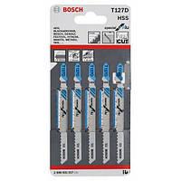 Пилки лобзиковые Bosch 5 шт T 127 D, HSS