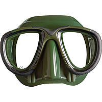 Подводные маски для охоты Mares Tana; зелёные