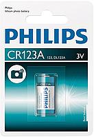 Батарейка литиевая Philips CR123A