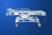 Тележка медицинская для транспортировки пациентов ВМп-3, Каталка медицинская с регулировкой высоты