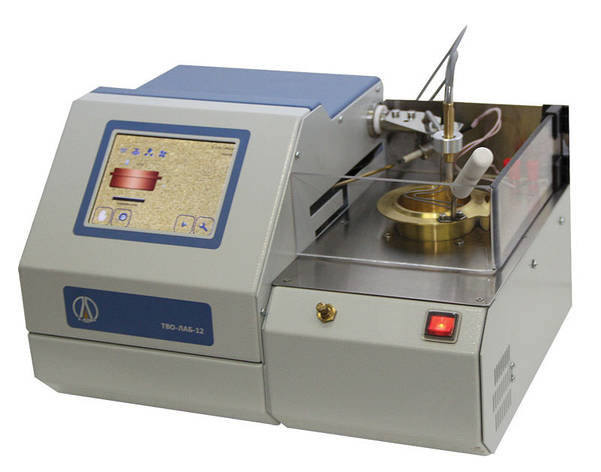 ТВО-ЛАБ-12 Автоматичний апарат для визначення температури спалаху у відкритому тиглі, фото 2